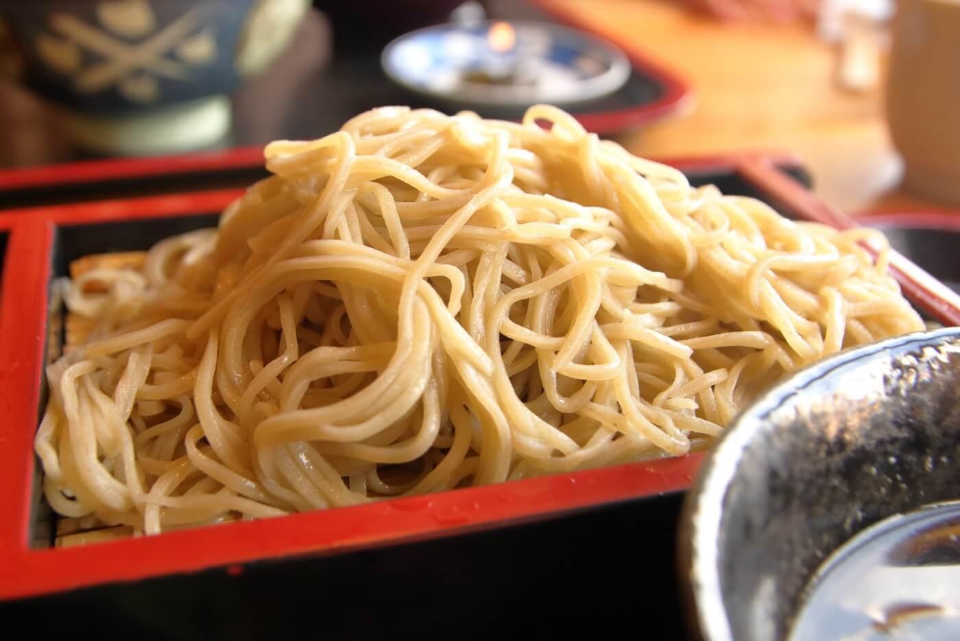 福杜(ふくのもり)鴨せいろ蕎麦
