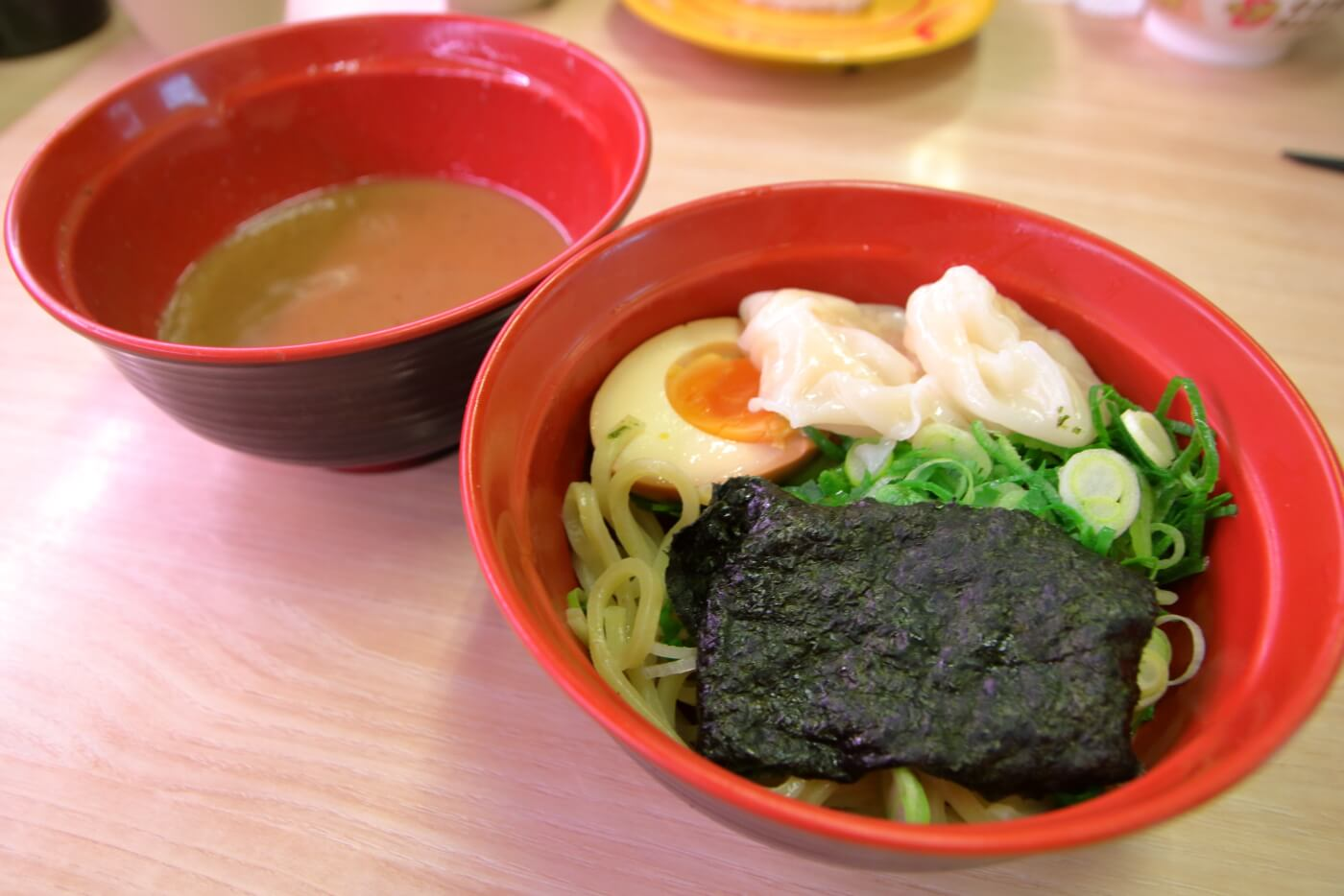スシロー 魚介豚骨つけ麺