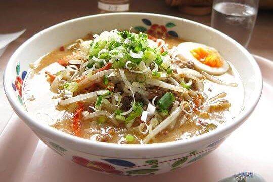 美味しんぼ山岡 和風担々麺(味噌)