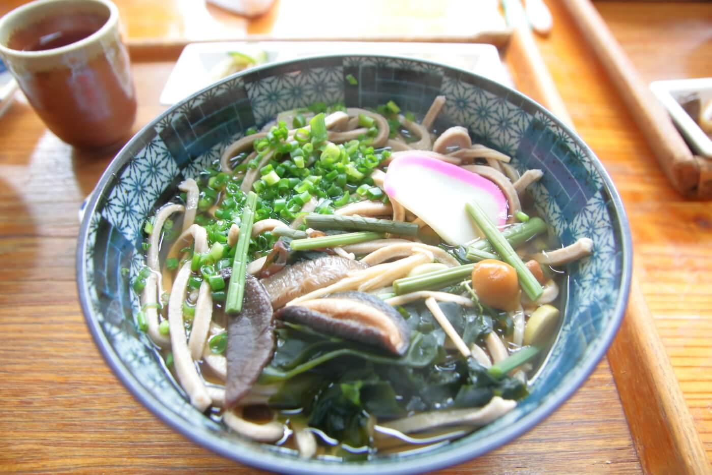 平家の茶屋 薬膳蕎麦定食