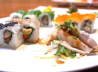 da yoshi sushibar(ダ ヨシ スシバー)ランチ カルフォルニアロール
