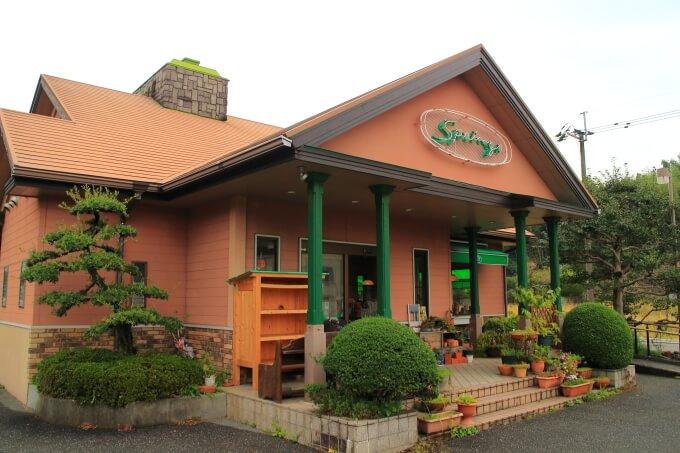 高知市春野町のレストランすぷりんぐす 外観