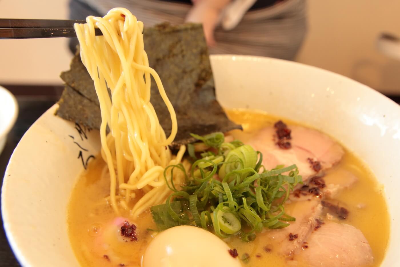 麺屋 藤しろ高知店 鶏白湯特製ラーメン