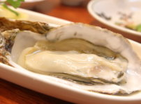 リニューアルオープンした高知市の居酒屋英屋の料理 生牡蠣