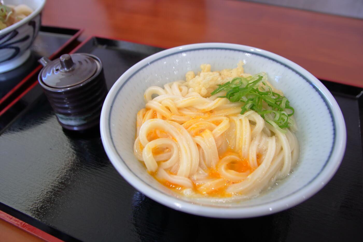こがね製麺所 高知一宮店 釜玉うどん