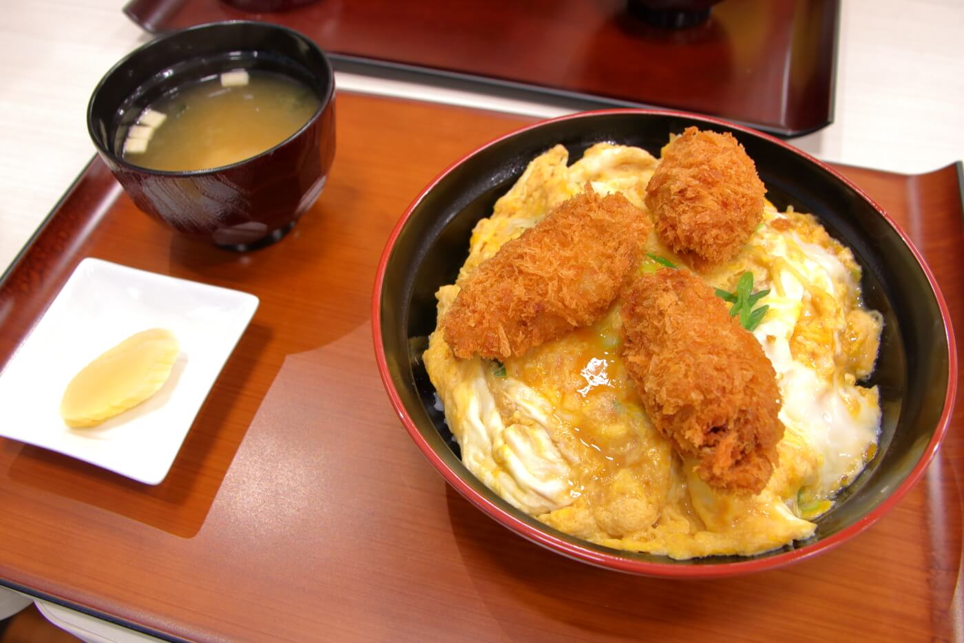 マルナカ高知インター店 フードコート 広島産カキフライ丼