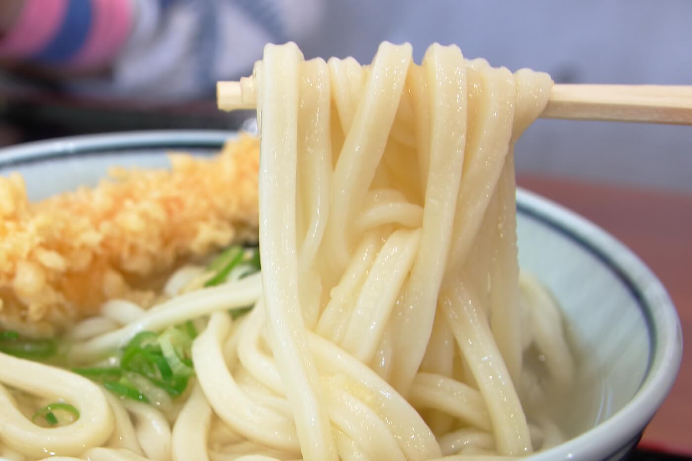 こがね製麺所 高知一宮店 かけうどん