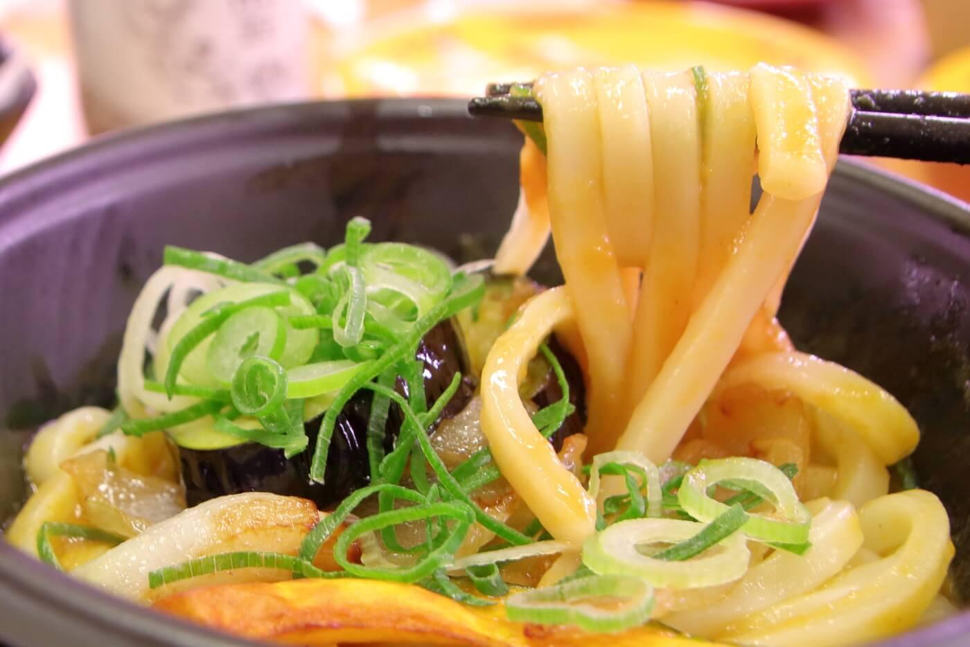 スシロー 匠の一皿 8種の野菜と果物 すりながしカレーうどん