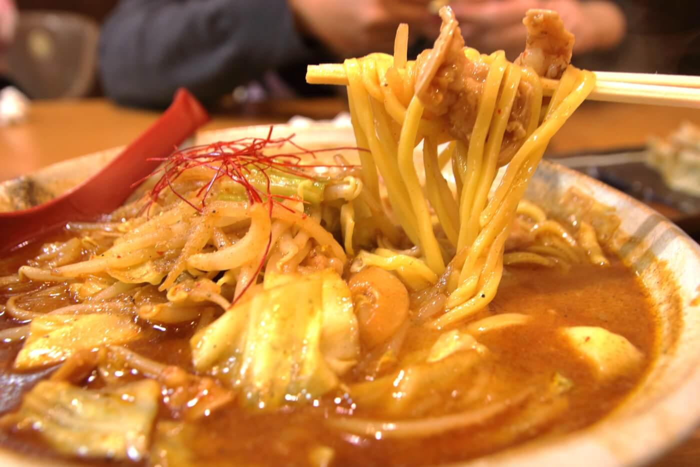 麺屋・國丸。南国店 牛モツ味噌ラーメン