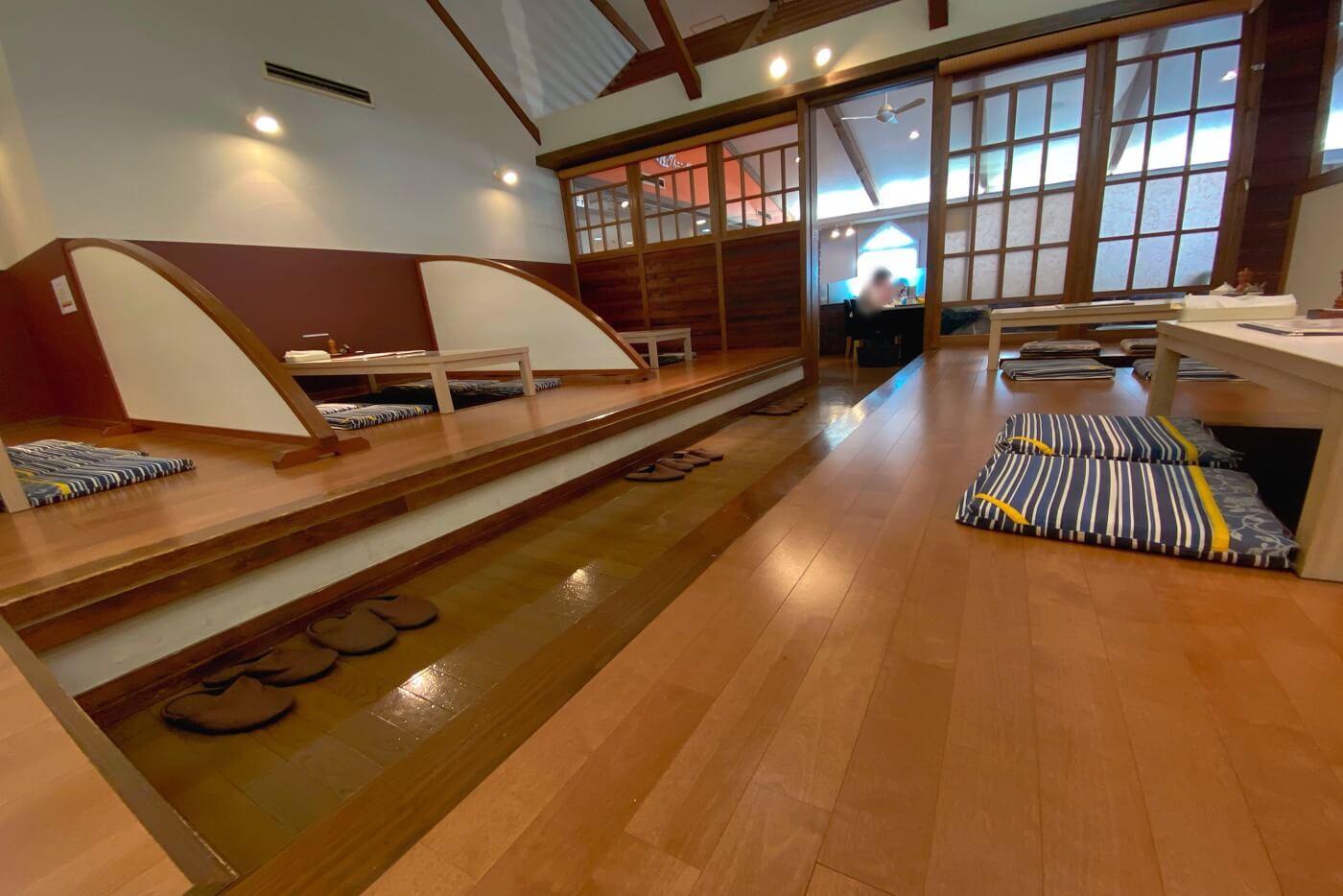 俵屋ダイニング和 内観 掘りごたつ座敷