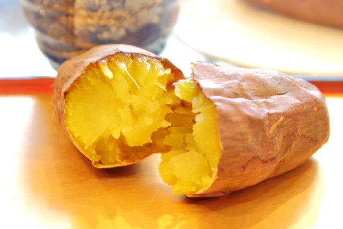 高知市の香稜苑(こうりょうえん) 石焼き芋