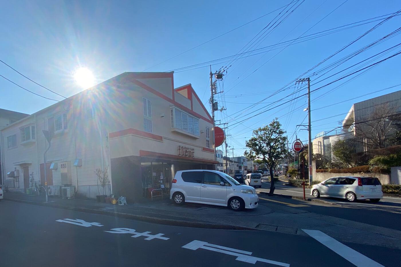 フルール洋菓子横内店 外観