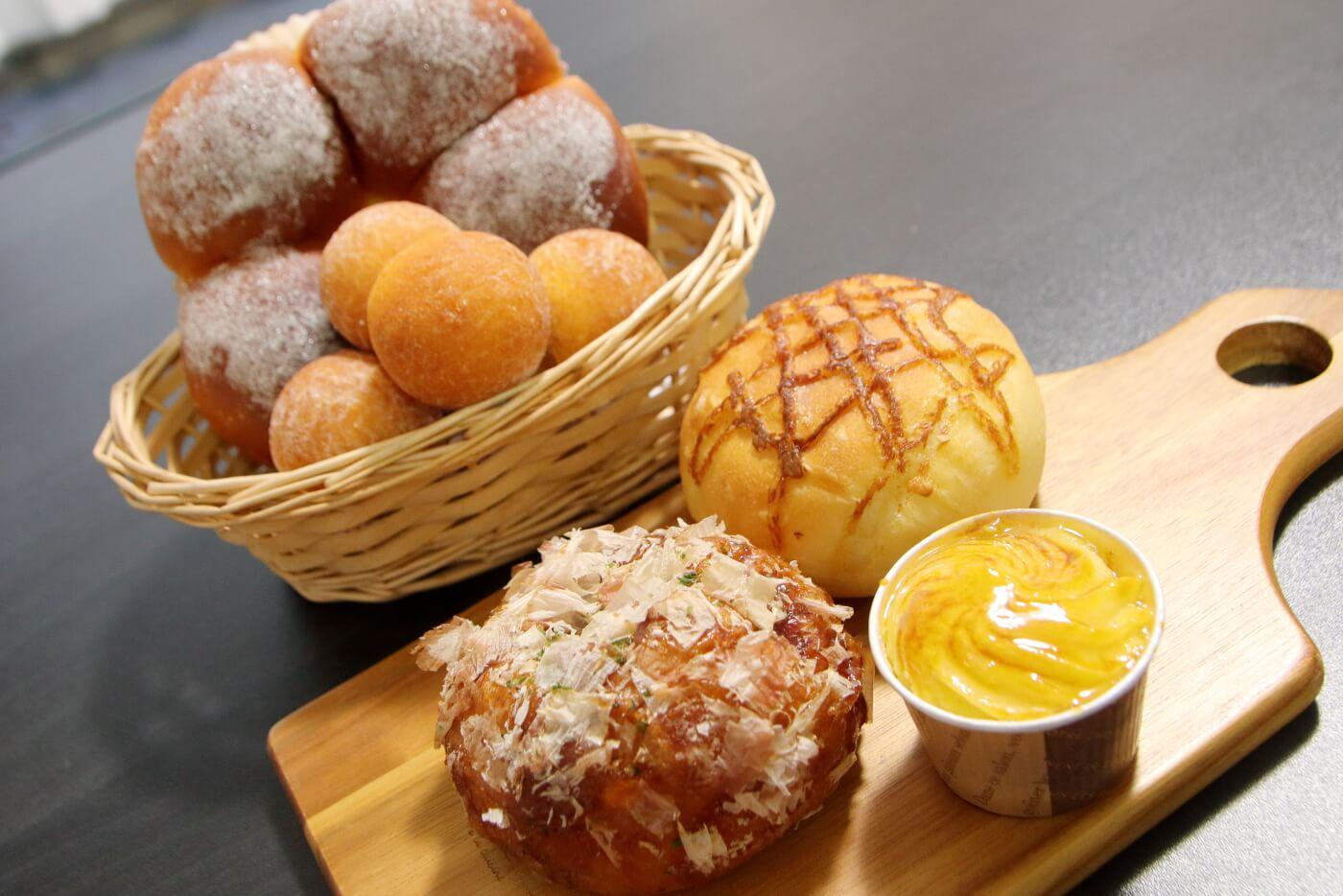 フルール洋菓子横内店で購入したパンたち