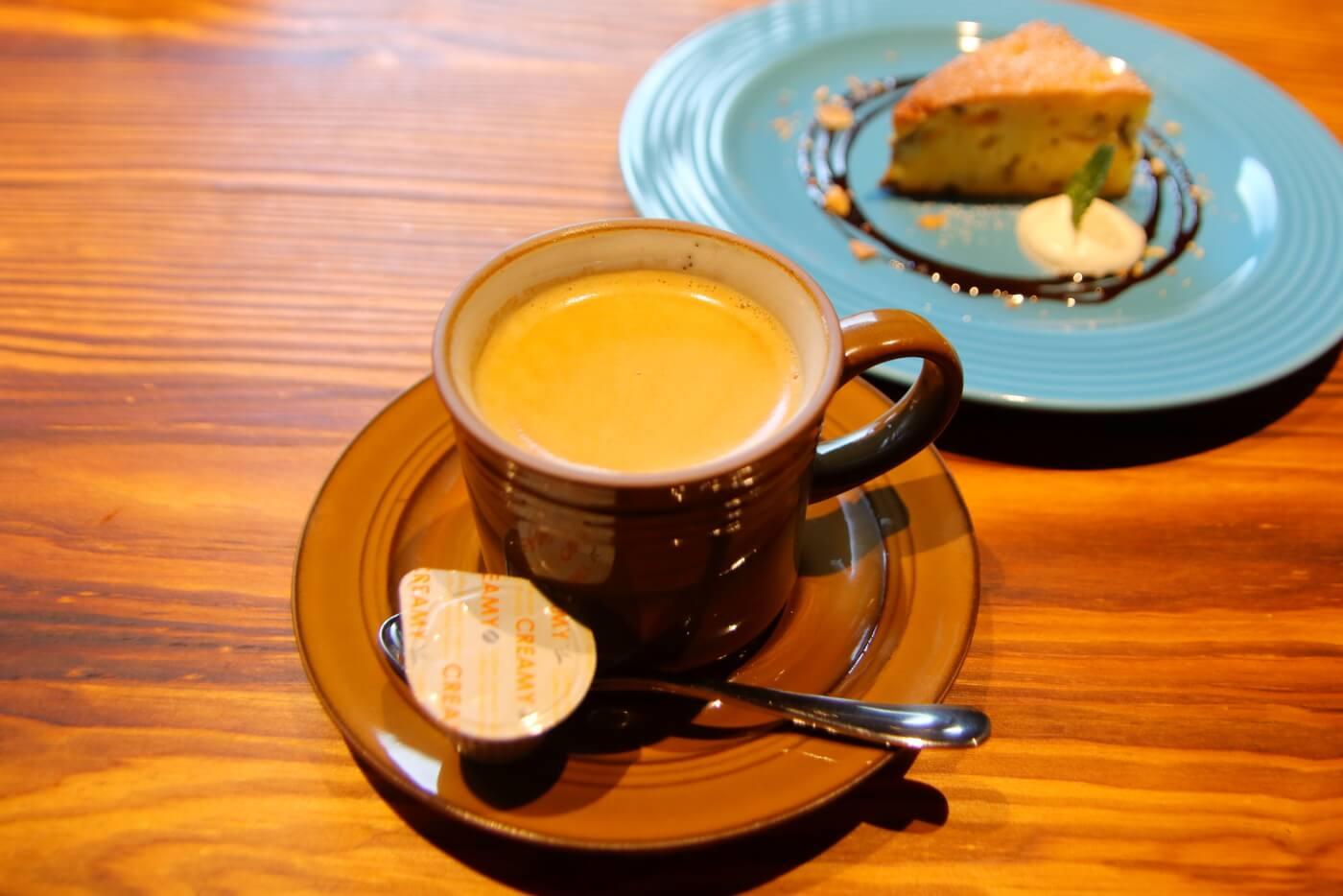 アイマタポファクトリー 食後のコーヒー