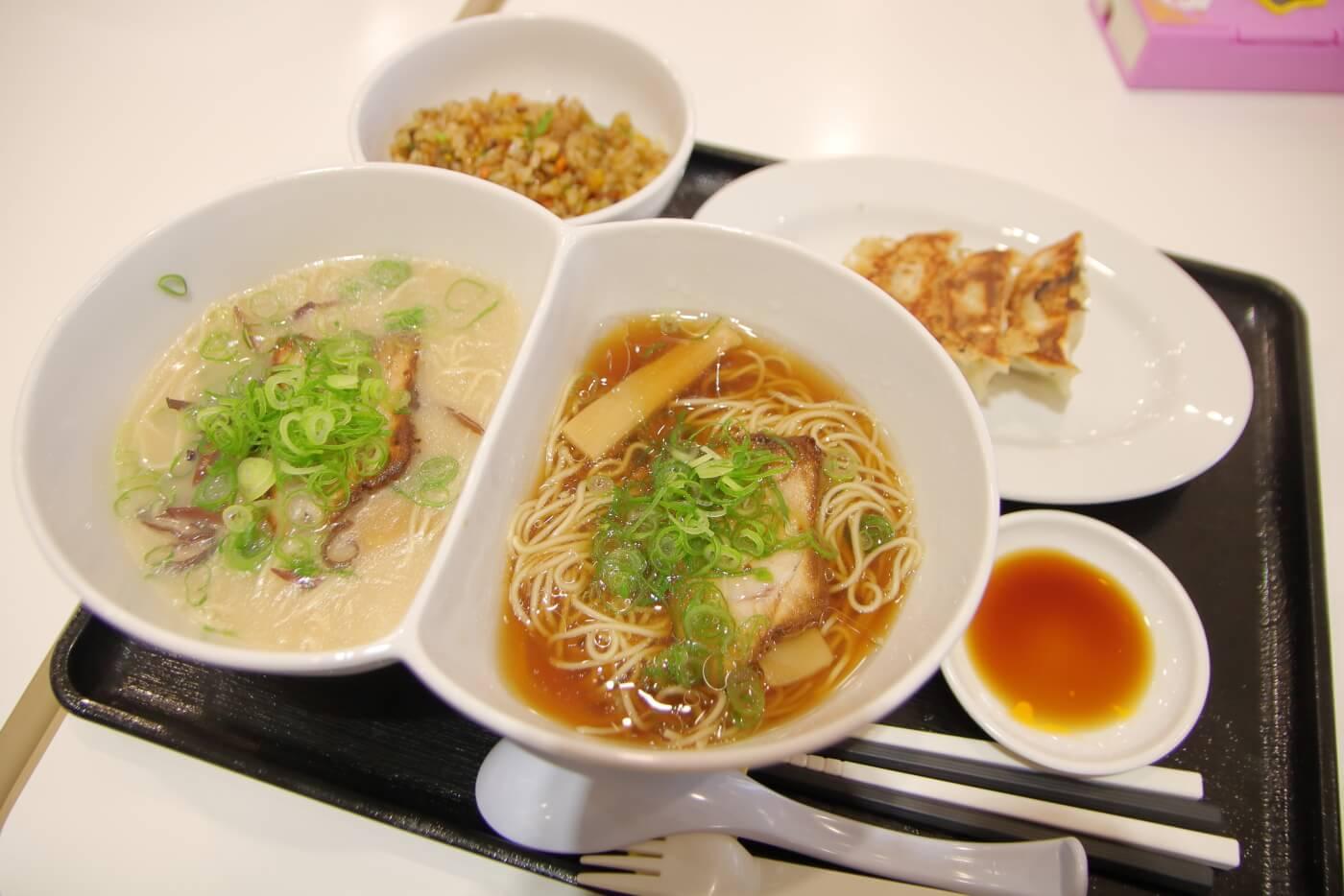 本場博多とんこつラーメン神(jin)サニーアクシスいの店 にこいちラーメン