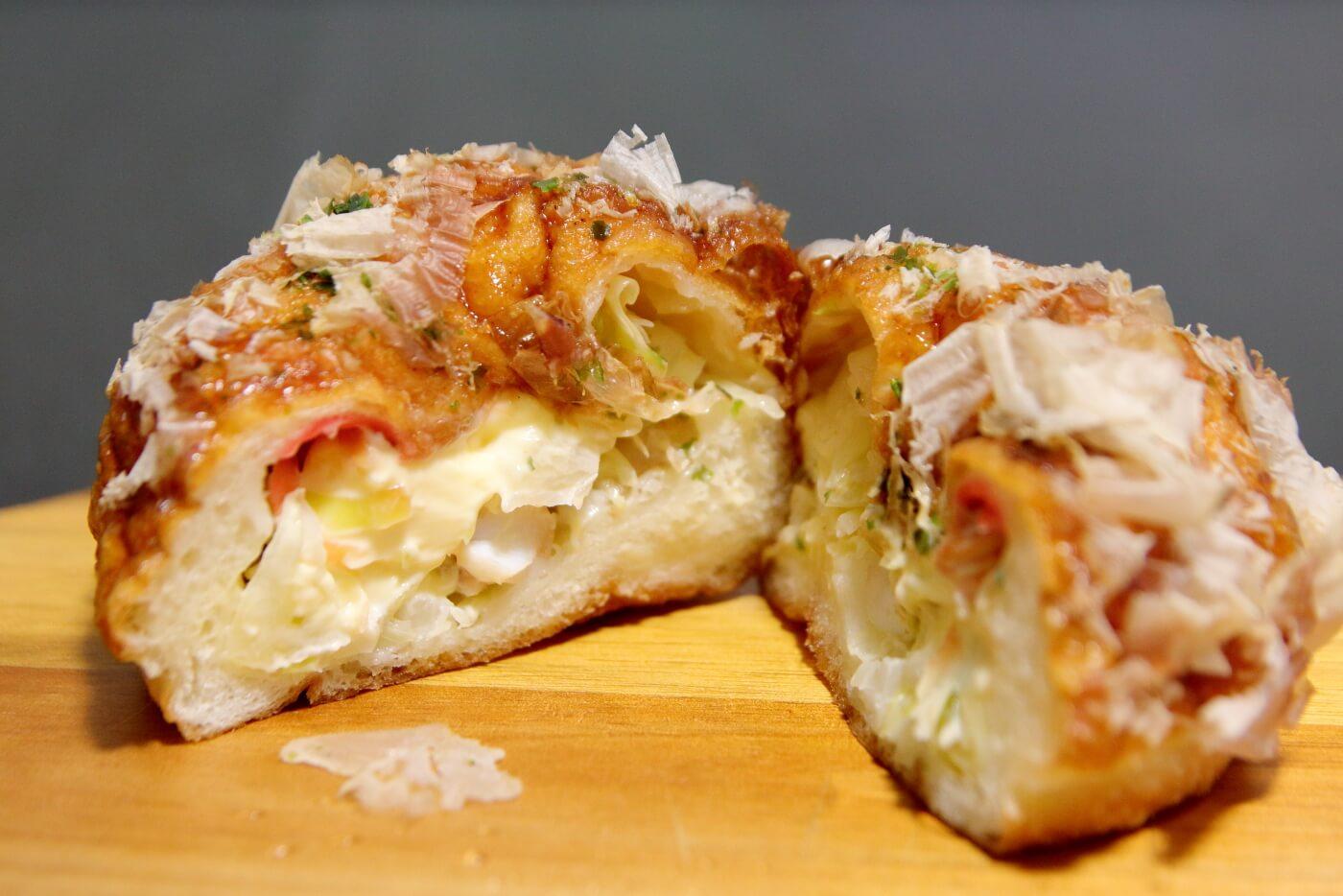 フルール洋菓子横内店 たこ焼きパン