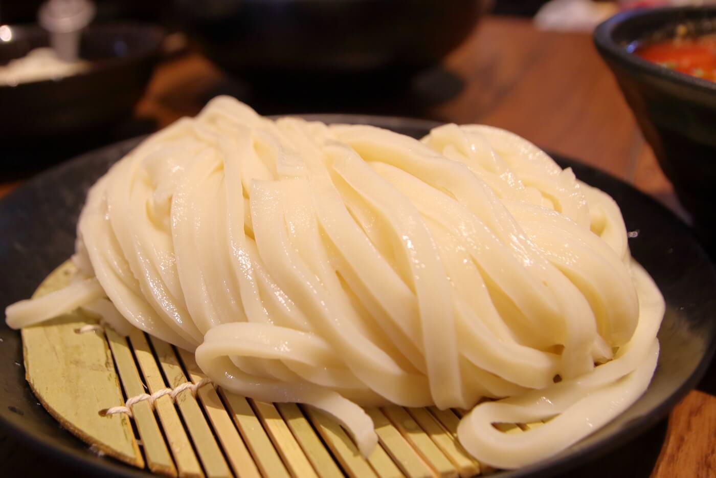 うどんおよべ 高知蔦屋書店 うどんの麺線