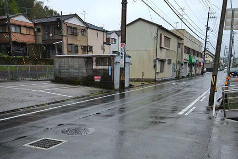 福井食堂 駐車場2
