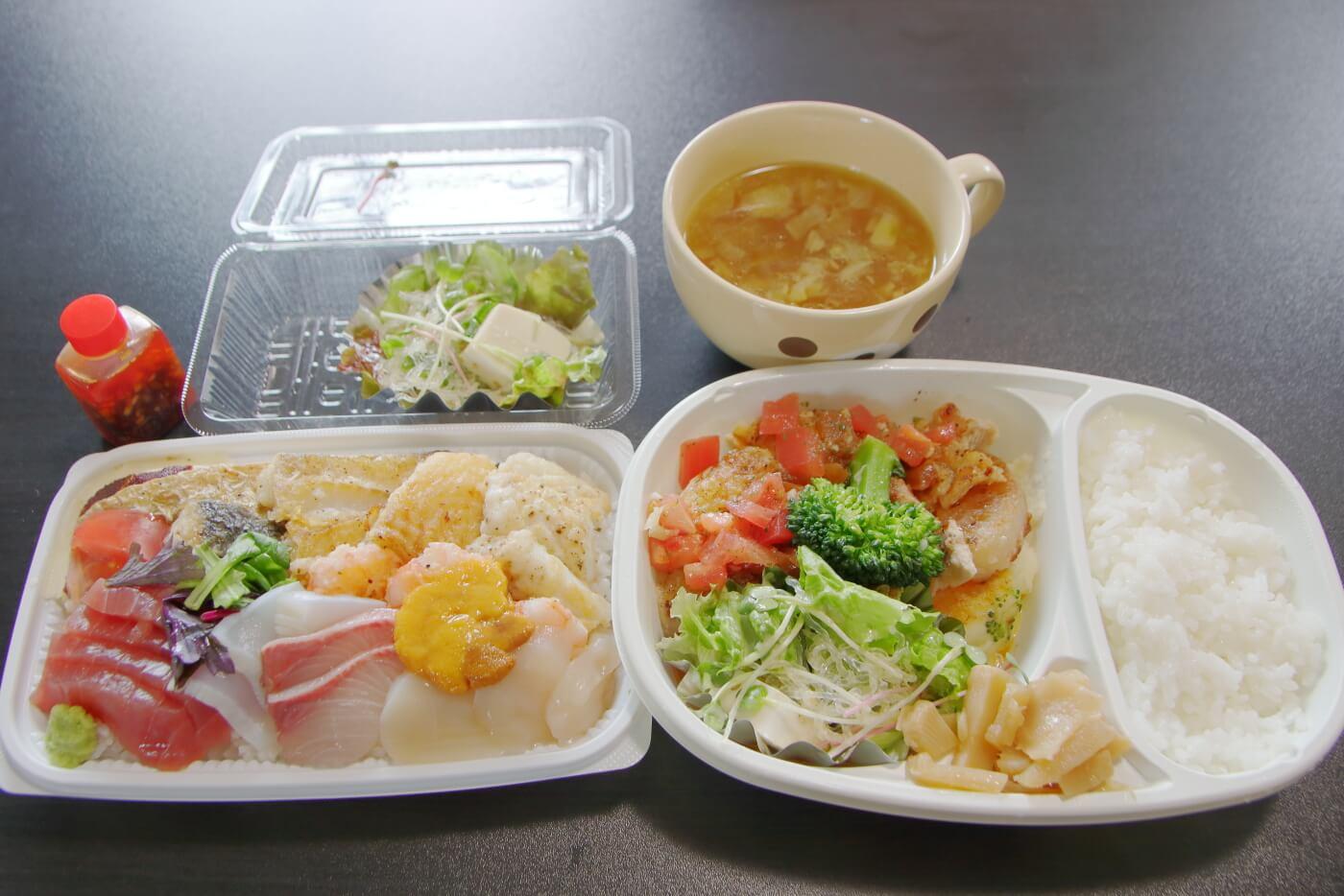 クードゥバレーヌ テイクアウト バレーヌ風海鮮丼(洋風海鮮丼)&日替わりランチ