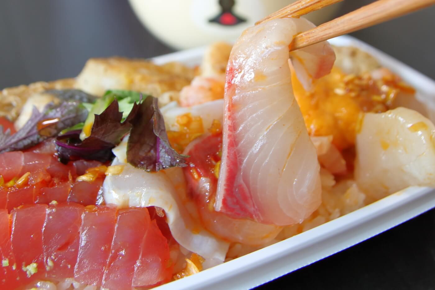 クードゥバレーヌ テイクアウト バレーヌ風海鮮丼(洋風海鮮丼)