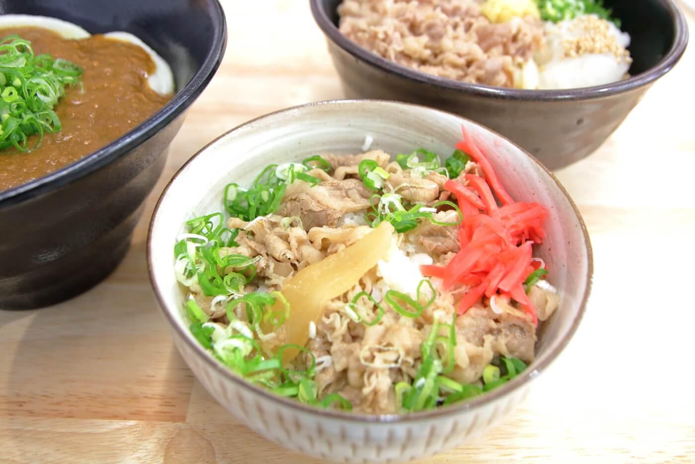 白バラ食堂 ミニ牛丼