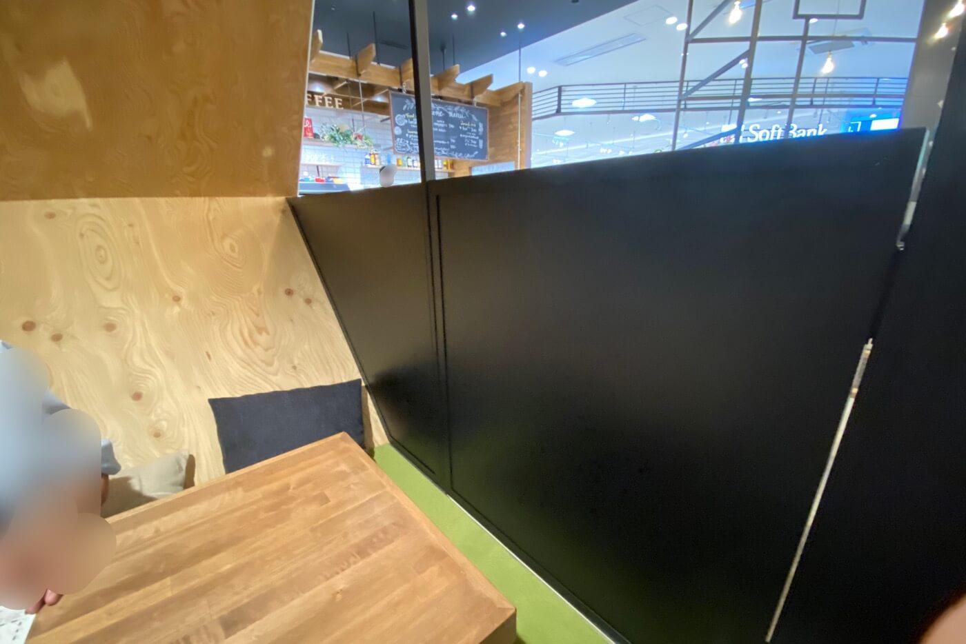 #.ICAFE(アイカフェ)パワーセンター高知 内観 個室座敷席