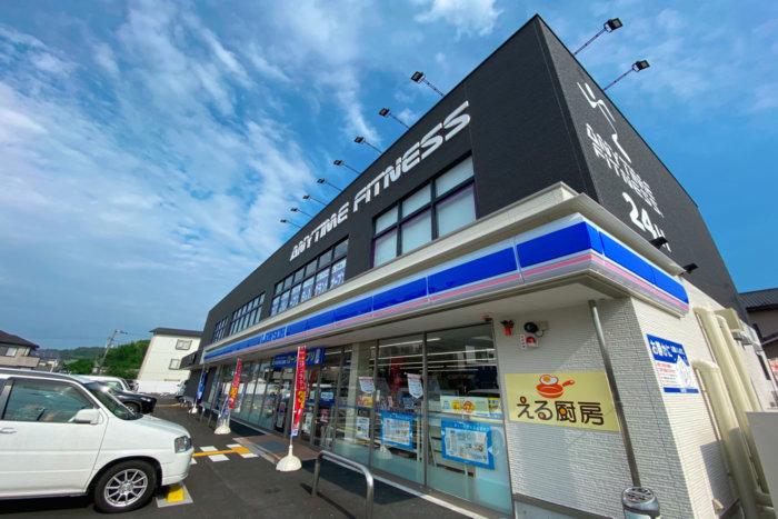 エニタイムフィットネス高知神田店の外観
