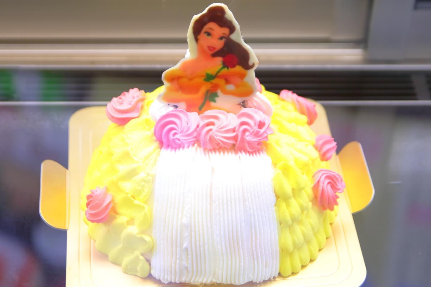 シェイクアラクーン ケーキ