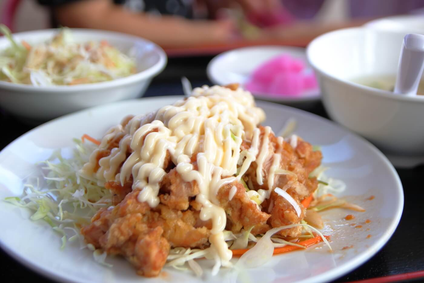 台湾料理 豊源野市店 油淋鶏定食