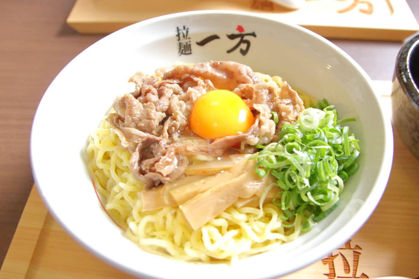 拉麺一方やすきや番地 元祖やすきや土佐和牛肉入りしょうゆラーメン