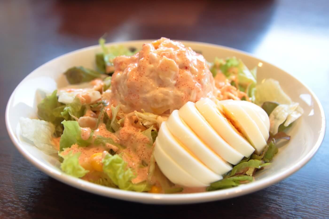 ココイチ 明太コールスローサラダ