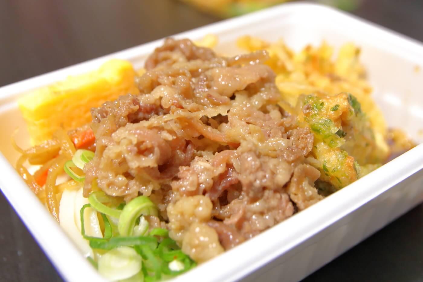 丸亀製麺 うどん弁当 肉