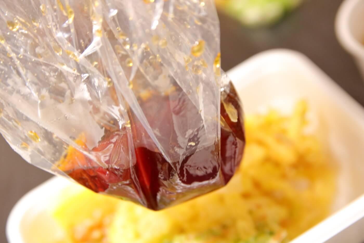 丸亀製麺 うどん弁当 ぶっかけ出汁